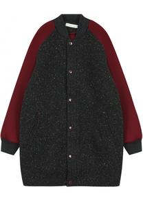 Куртка-бомбер с контрастной отделкой Stella McCartney