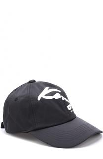 Хлопковая бейсболка с логотипом бренда Kenzo