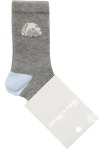 Хлопковые носки с принтом Tartine Et Chocolat