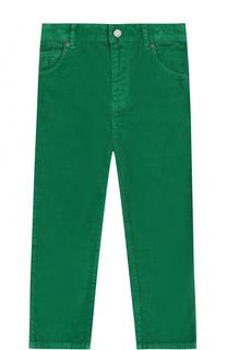 Вельветовые брюки прямого кроя Burberry