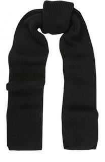 Шерстяной вязаный шарф Dolce & Gabbana