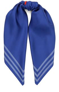 Шелковый шарф с принтом Kenzo