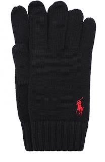Шерстяные перчатки Polo Ralph Lauren