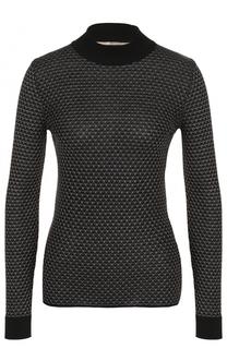Облегающий пуловер с круглым вырезом Roland Mouret