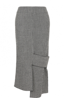Юбка-карандаш асимметричного кроя Victoria Beckham