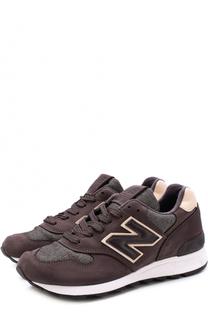 Замшевые кроссовки 1400 на шнуровке New Balance