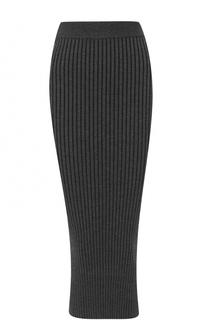 Юбка-карандаш фактурной вязки Kenzo