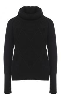 Шерстяной свитер фактурной вязки Kenzo