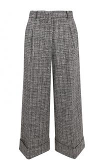 Укороченные расклешенные брюки со стрелками Tara Jarmon