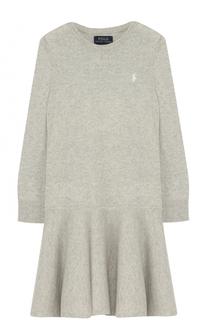 Шерстяное платье с длинными рукавами Polo Ralph Lauren