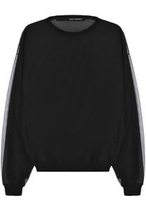 Прозрачный пуловер с круглым вырезом Isabel Benenato