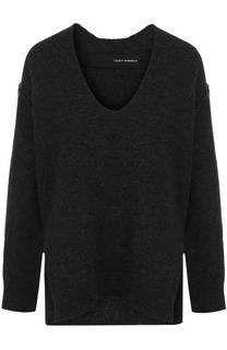 Пуловер свободного кроя с V-образным вырезом Isabel Benenato