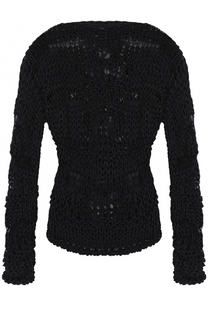 Хлопковый пуловер фактурной вязки Isabel Benenato