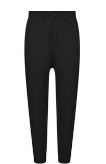 Укороченные шерстные брюки с эластичным поясом Isabel Benenato