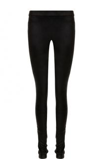 Кожаные брюки-скинни Isabel Benenato