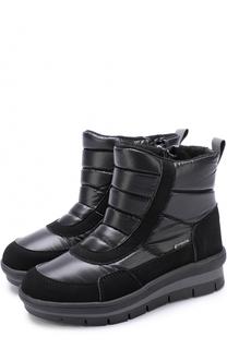 Текстильные утепленные ботинки Jog Dog
