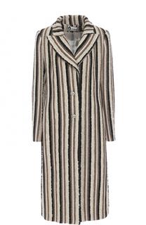 Приталенное удлиненное пальто Lanvin