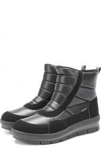 Комбинированные утепленные ботинки Jog Dog