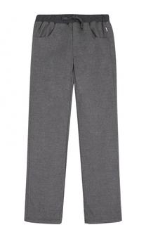 Спортивные брюки прямого кроя с поясом на кулиске Il Gufo