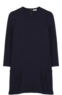 Платье джерси с накладными карманами Il Gufo