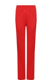 Брюки прямого кроя с карманами и эластичным поясом Givenchy