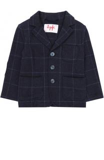 Хлопковой пиджак в контрастную полоску Il Gufo