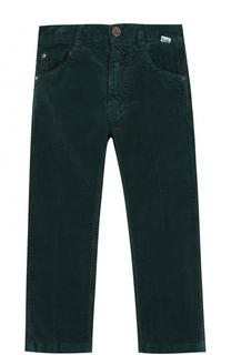 Хлопковые брюки прямого кроя Il Gufo