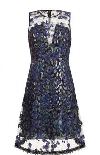 Приталенное мини-платье без рукавов Elie Tahari