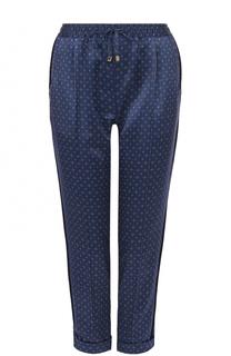 Укороченные шелковые брюки Kiton