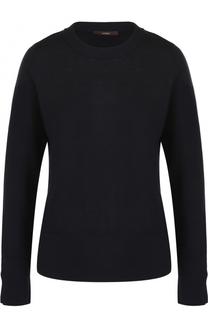 Шерстяной пуловер с круглым вырезом Windsor