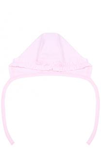 Хлопковая шапка с оборкой Kissy Kissy