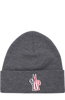 Шерстяная шапка бини Moncler