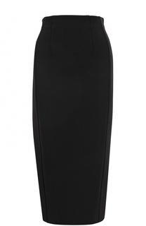 Однотонная юбка-карандаш с разрезом Diane Von Furstenberg