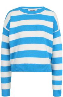 Пуловер в полоску с круглым вырезом Diane Von Furstenberg