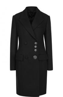 Двубортное шерстяное пальто Alexander Wang