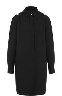 Удлиненная шелковая блуза Alexander Wang