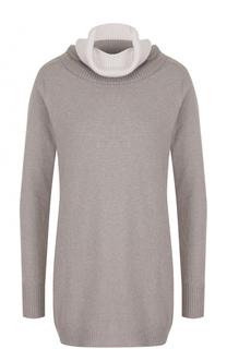 Вязаный свитер с высоким воротником D.Exterior