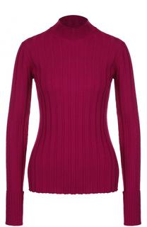 Шерстяной облегающий свитер Theory