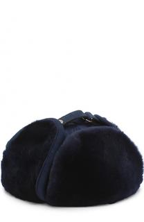 Меховая шапка-ушанка Billionaire