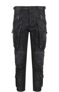 Укороченные джинсы с заниженной линией шага Dsquared2