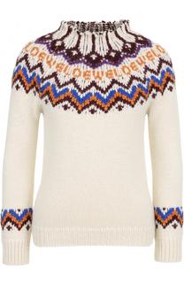 Шерстяной свитер с принтом Loewe