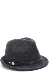 Шляпа из смеси шерсти и кашемира с ремешком Inverni