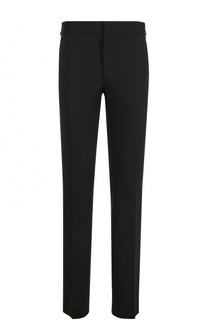 Хлопковые брюки прямого кроя с эластичным поясом Fendi