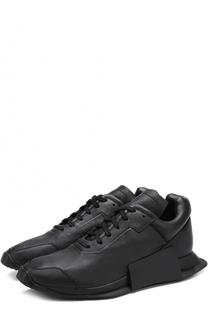 Кожаные кроссовки RO Level Runner Low II Adidas by Rick Owens