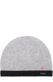 Шерстяная шапка с контрастной окантовкой Givenchy