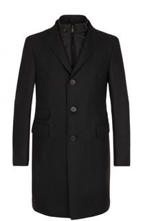 Шерстяное однобортное пальто с подстежкой Pal Zileri