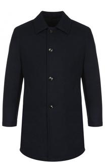 Шерстяное однобортное пальто Sartoria Latorre