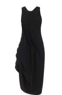 Платье-миди асимметричного кроя без рукавов Isabel Benenato