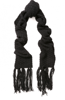 Шерстяной шарф с бахромой Golden Goose Deluxe Brand