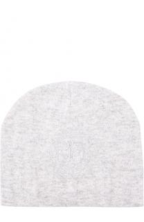 Вязаная шапка с логотипом бренда Billionaire